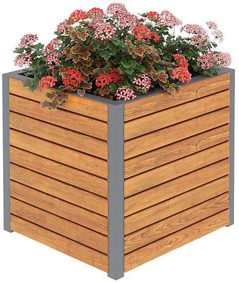 Skrzynka ogrodowa Zeris 3x - 24 kolory