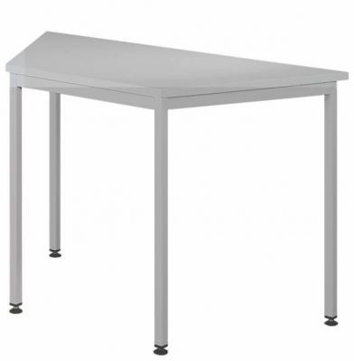 Biurko stół biurowy trapezowy STB 201 st 120x60cm MALOW
