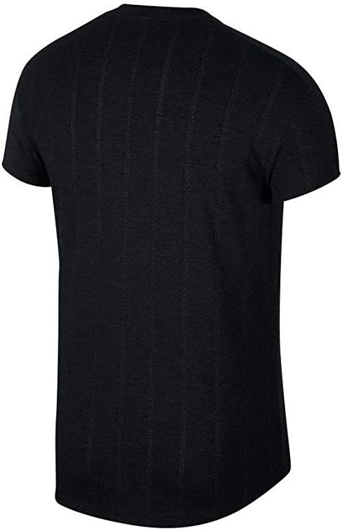 Nike Koszulka męska M Nkct Chllngr Ss Black/(White) S
