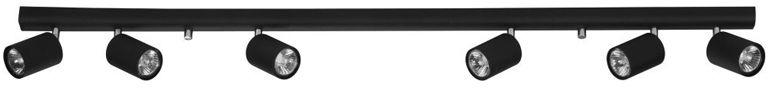 Listwa sufitowa Eye Spot 6611 Nowodvorski Lighting podłużna oprawa w kolorze czarnym