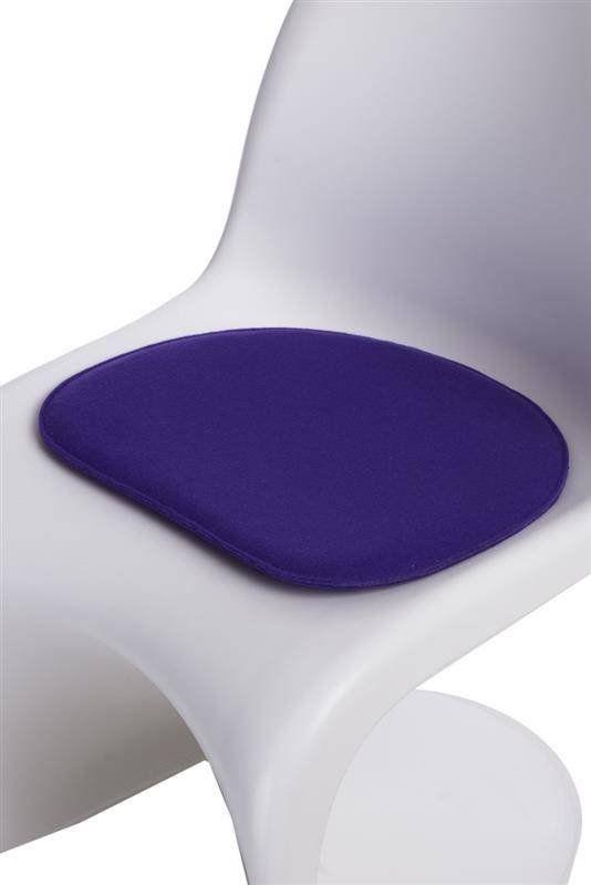 Intesi Balance fioletowa poduszka na krzesło