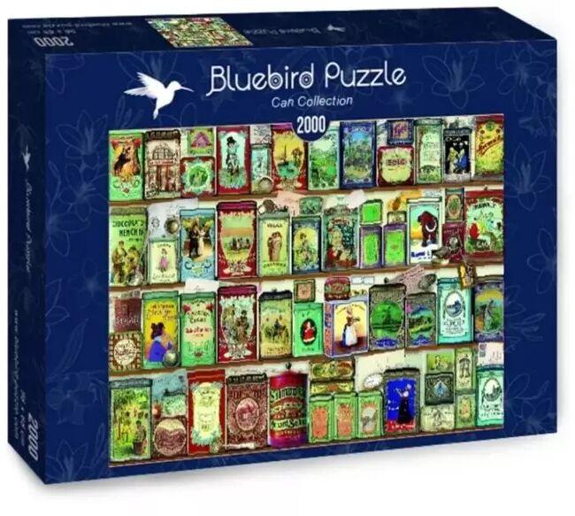Puzzle 2000 Kolekcja puszek - Bluebird Puzzle