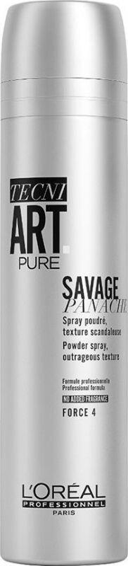 L''Oréal Professionnel - TECNI ART. SAVAGE PANACHE PURE - POWDER SPRAY - FORCE 4 - Teksturyzujący puder w spray u do włosów - 250 ml