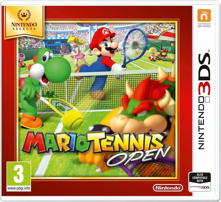 Gra Mario Tennis Open - Nintendo Selects (3DS)