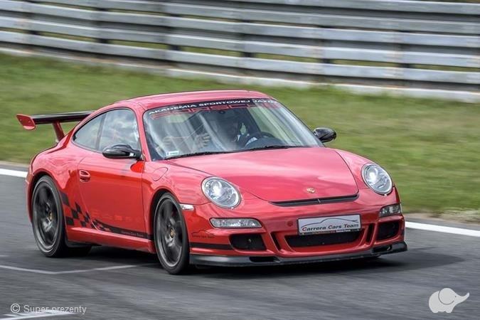 Jazda Porsche 911 (997) GT3 Mk. I ulicami Poznania