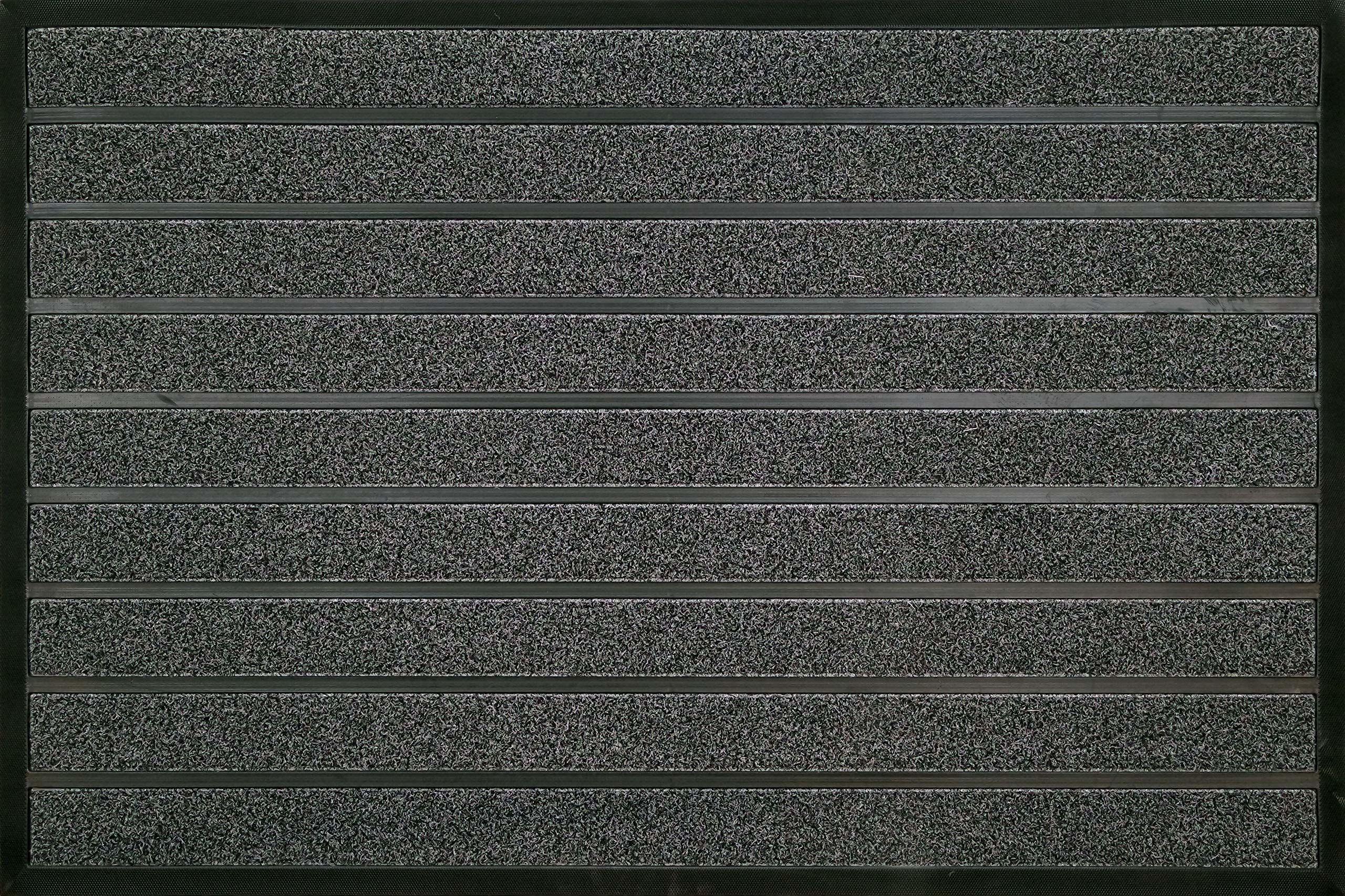 ID matowy pędzel Combi Brush, włókna syntetyczne, szary, 80 x 120 x 0,6 cm