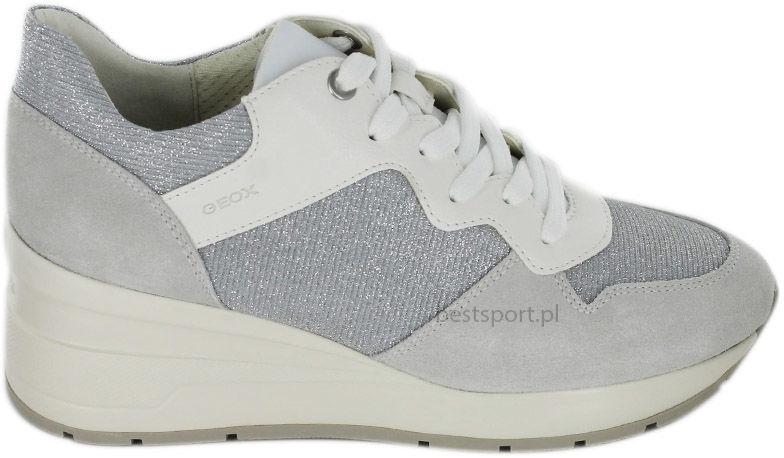 Sneakersy damskie GEOX D ZOSMA białe D828LC022EWC0856
