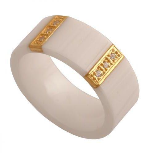 Złoty pierścionek nowoczesny Pn110