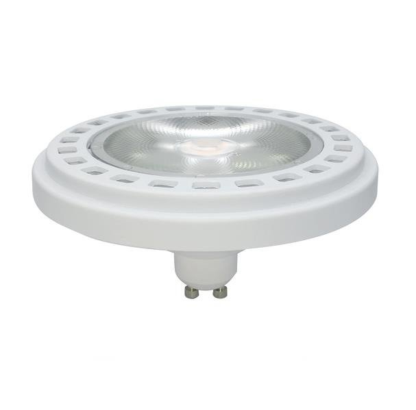 LED ES111 / GU10 15W ciepła 3000K kąt 30st WH