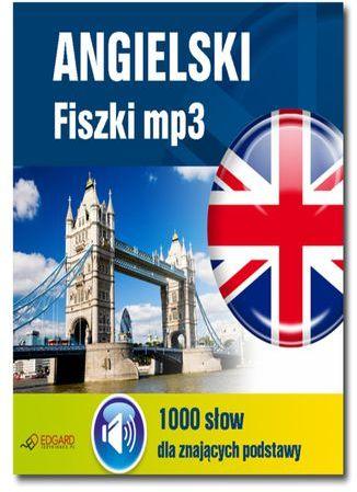 Angielski Fiszki mp3 1000 słówek dla znających podstawy - Audiobook.