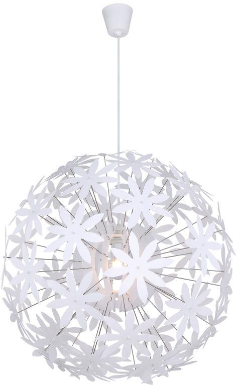 Globo STELLA 15024 lampa wisząca biała 1xE27 60cm