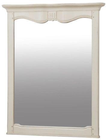 Lustro kremowe w stylu francuskim 111,5x89 cmx9cm ,VERONA