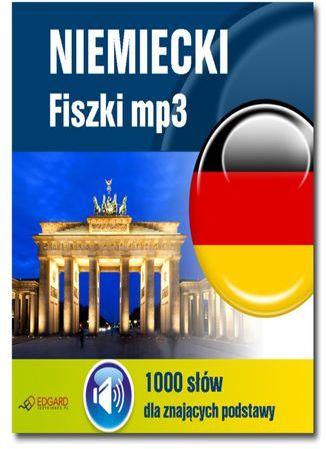 Niemiecki Fiszki mp3 1000 słówek dla znających podstawy - Audiobook.