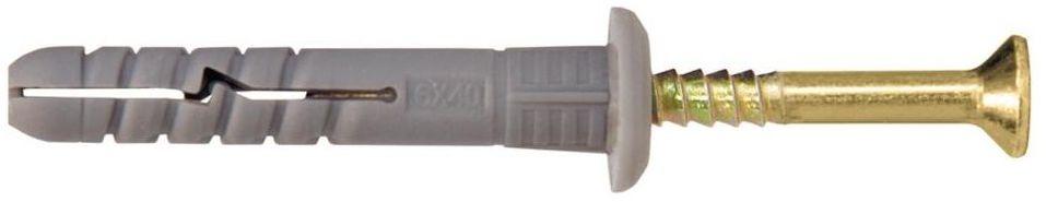 Kołek do szybkiego montażu 6X40MM 200 szt. WKRĘT-MET