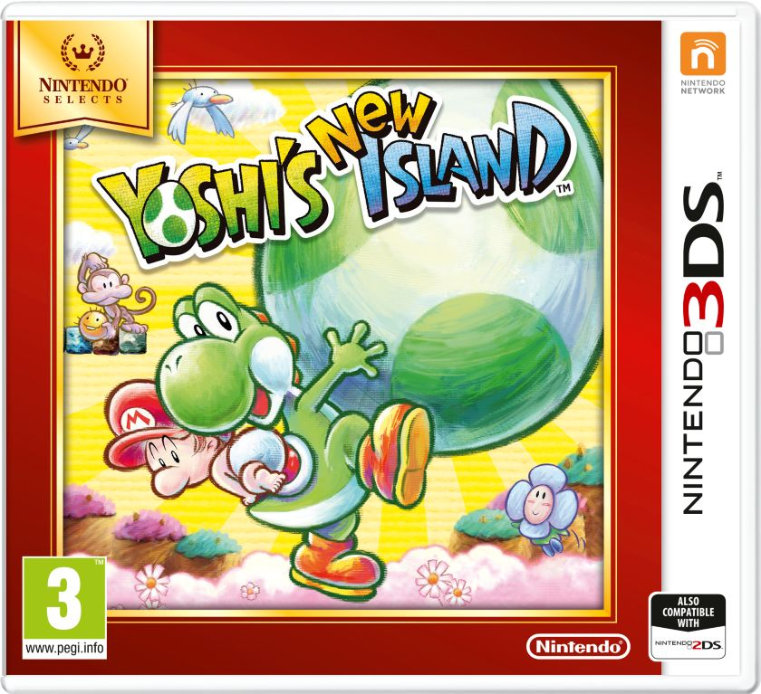 Gra Yoshi''s New Island - Nintendo Selects (3DS)