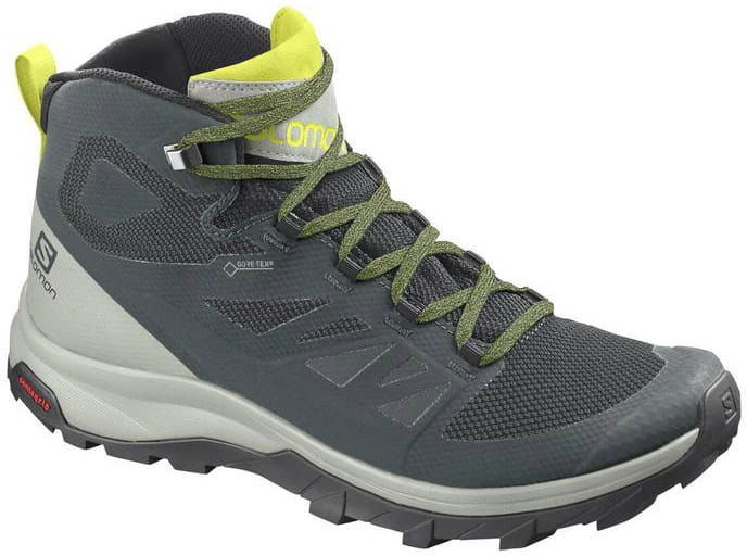 Buty Salomon OUTline Mid GTX Green Gables/Mineral Gray