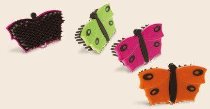 Szczotka do zbierania sierści z ubrań- Kieffer - motylek