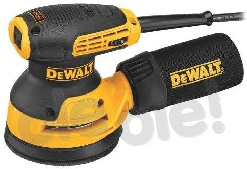 DeWalt szlifierka mimośrodowa 125mm, 280W, [DWE6423] DWE6423-QS
