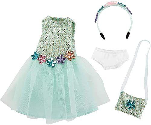 Käthe Kruse 0126868 Vera strój urodzinowy, jasnoniebieski