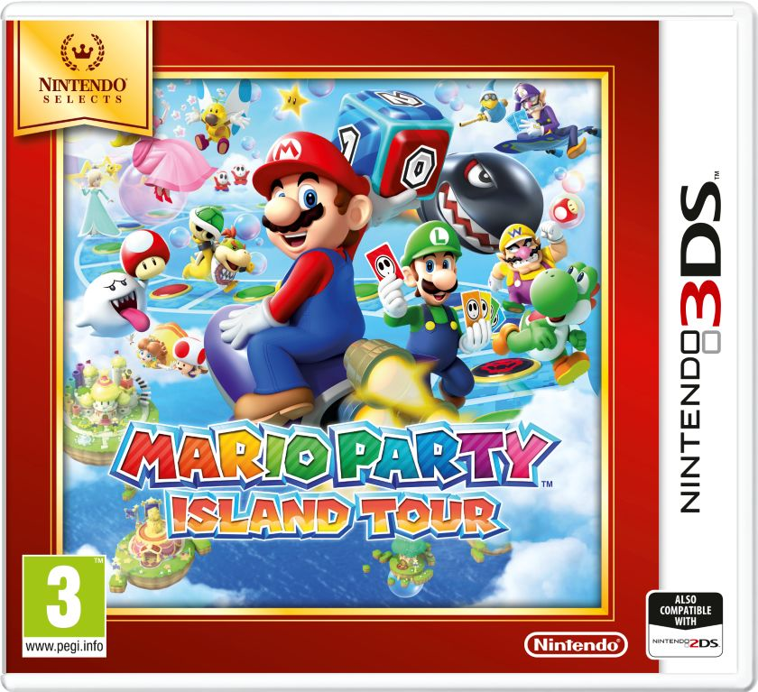 Gra Mario Party: Island Tour - Nintendo Selects (3DS)
