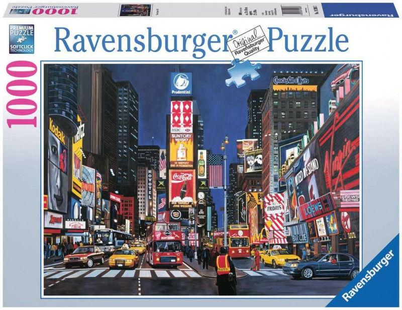 Puzzle 1000 elementów Times Square, Nowy Jork (GXP-761221)