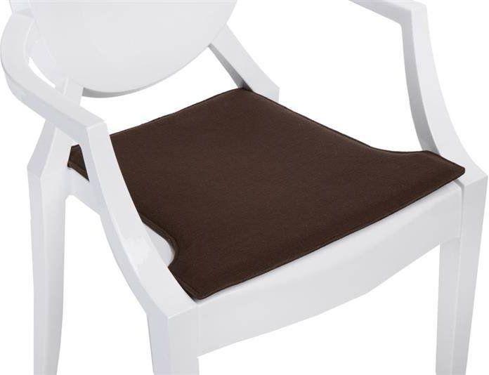 Intesi Royal brązowa poduszka na krzesło