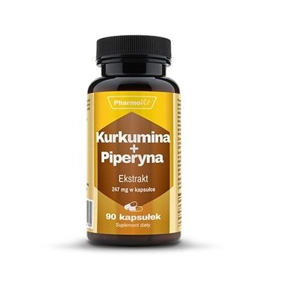 Kurkumina + piperyna 90kaps