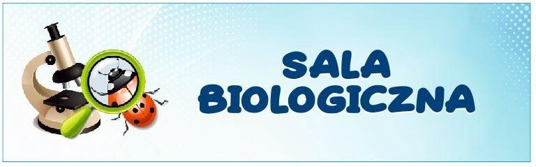 Naklejka na Drzwi Sala Biologiczna