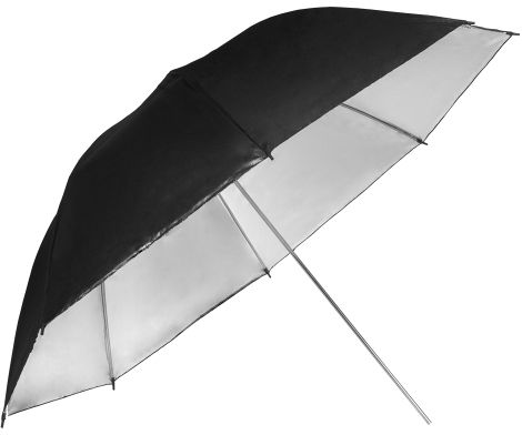 GlareOne SUMBS90 - parasolka srebrna, 90cm