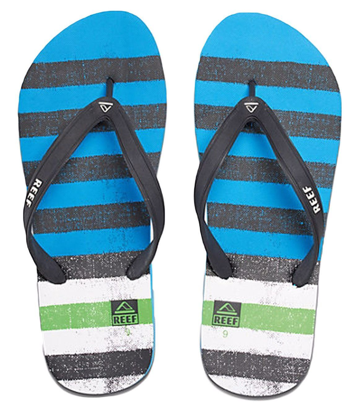 japonki męskie REEF SWITCHFOOT PRINTS BLUE GREEN