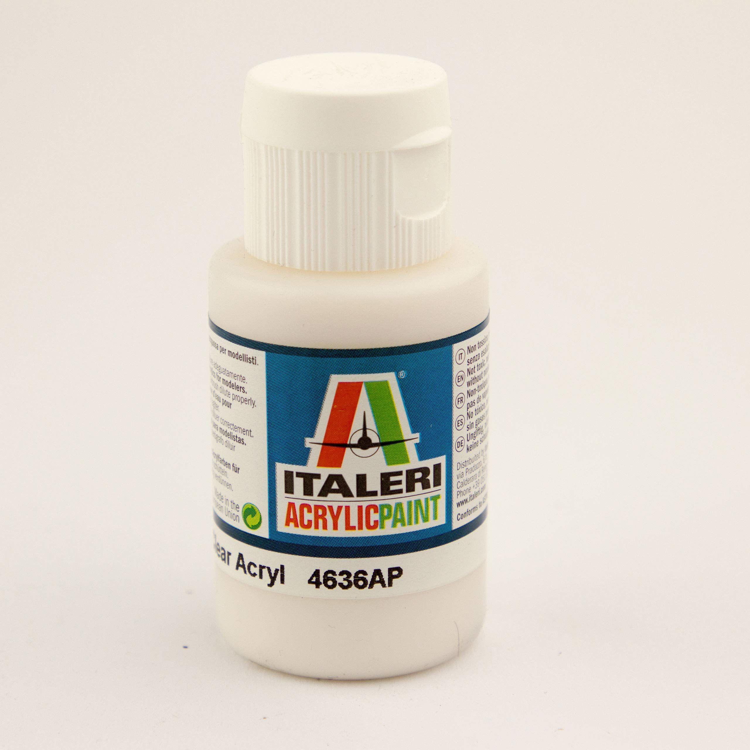 Italeri IT4636AP Acrylic Paint Transparent Mat, 35 ml