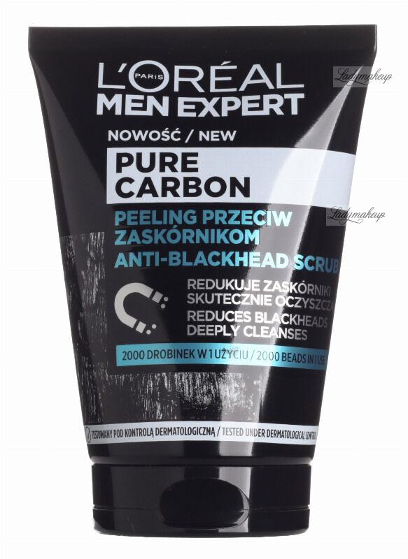 L''Oréal - MEN EXPERT - PURE CARBON - Peeling przeciw zaskórnikom dla mężczyzn