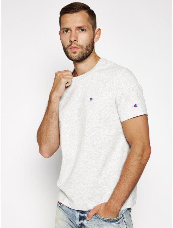 Champion T-Shirt 212974 Szary Regular Fit