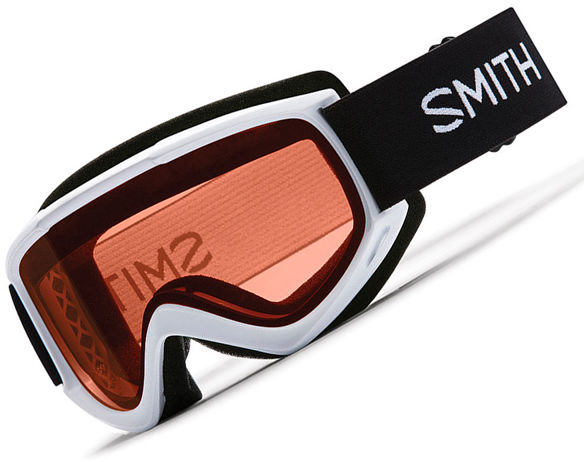 Smith CASCADE CLASSIC WHITE RC36 ROSEC AF womens snowboard goggles
