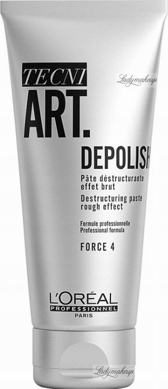 L''Oréal Professionnel - TECNI ART. DEPOLISH - Destructuring Paste - Matująca pasta strukturyzująca do włosów - Force 4 - 100 ml