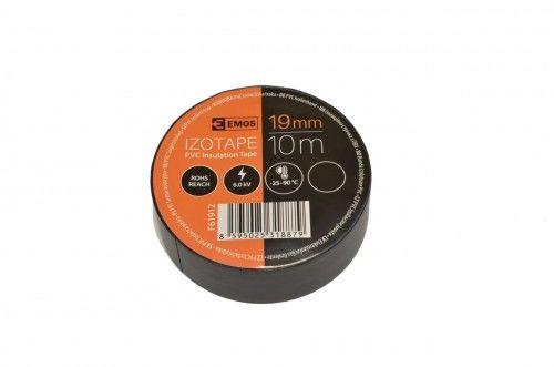 Taśma izolacyjna PVC 19mm /10m czarna