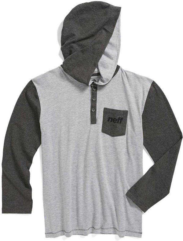 bluza NEFF - Binary Youth Premium (GREY) rozmiar: L