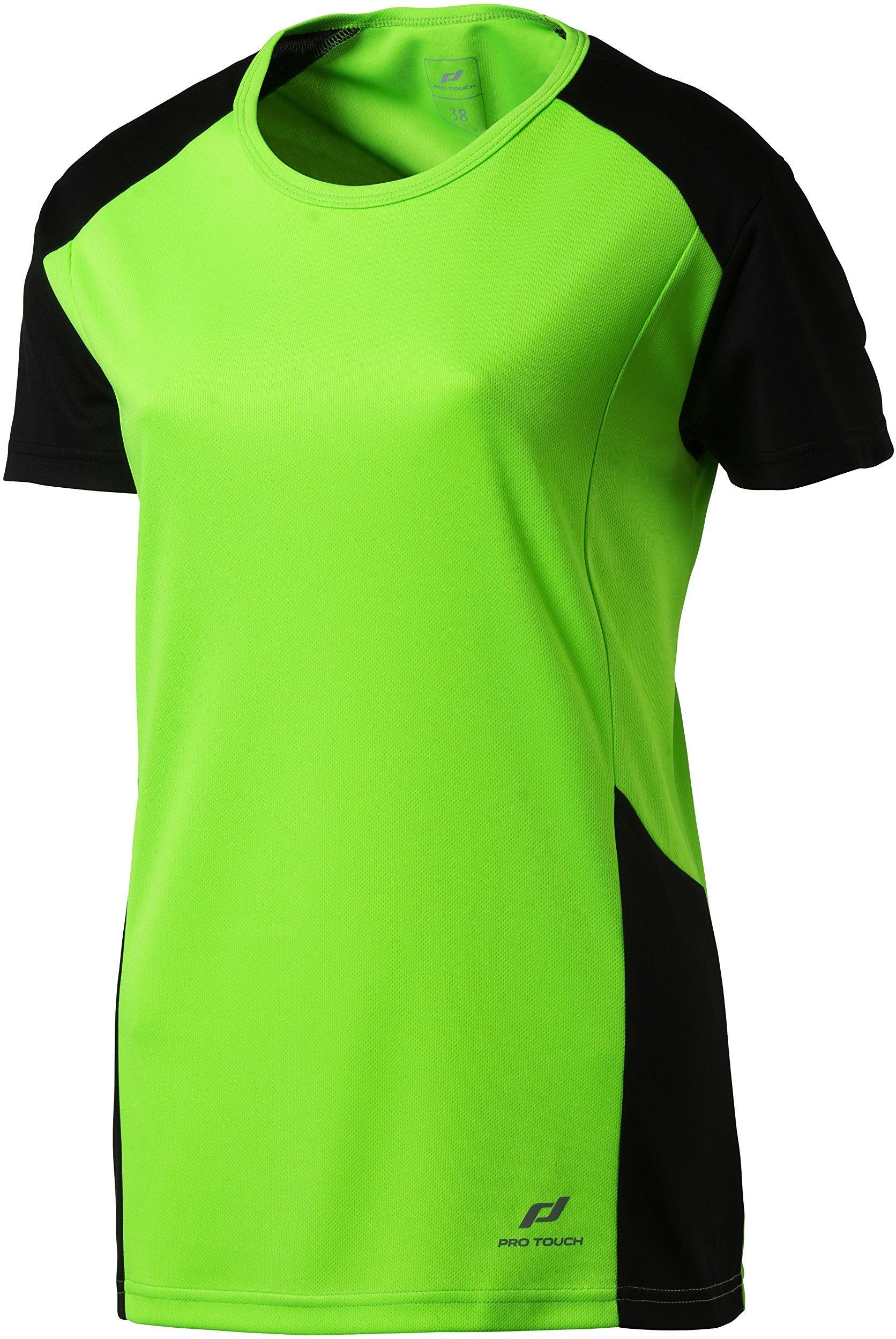 Pro Touch damska koszulka na kubek, zielona gecko/czarna, 36