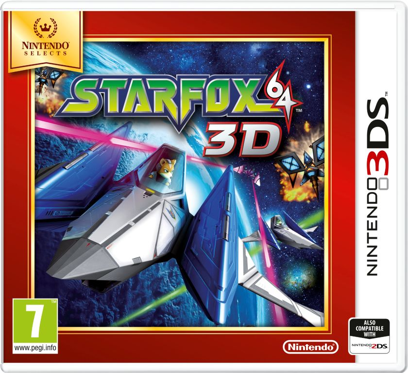 Gra Star Fox 64 3D - Nintendo Selects (Nintendo 3DS)
