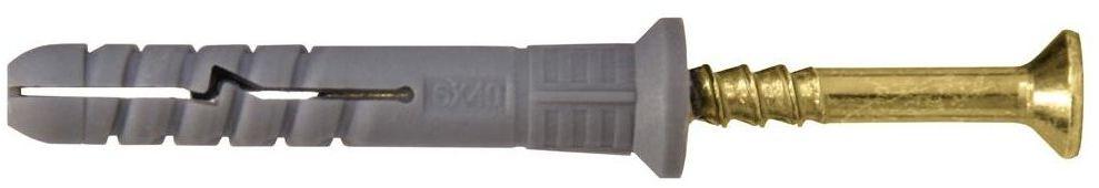 Zestaw kołków do montażu 6 x 40 mm WKRĘT-MET