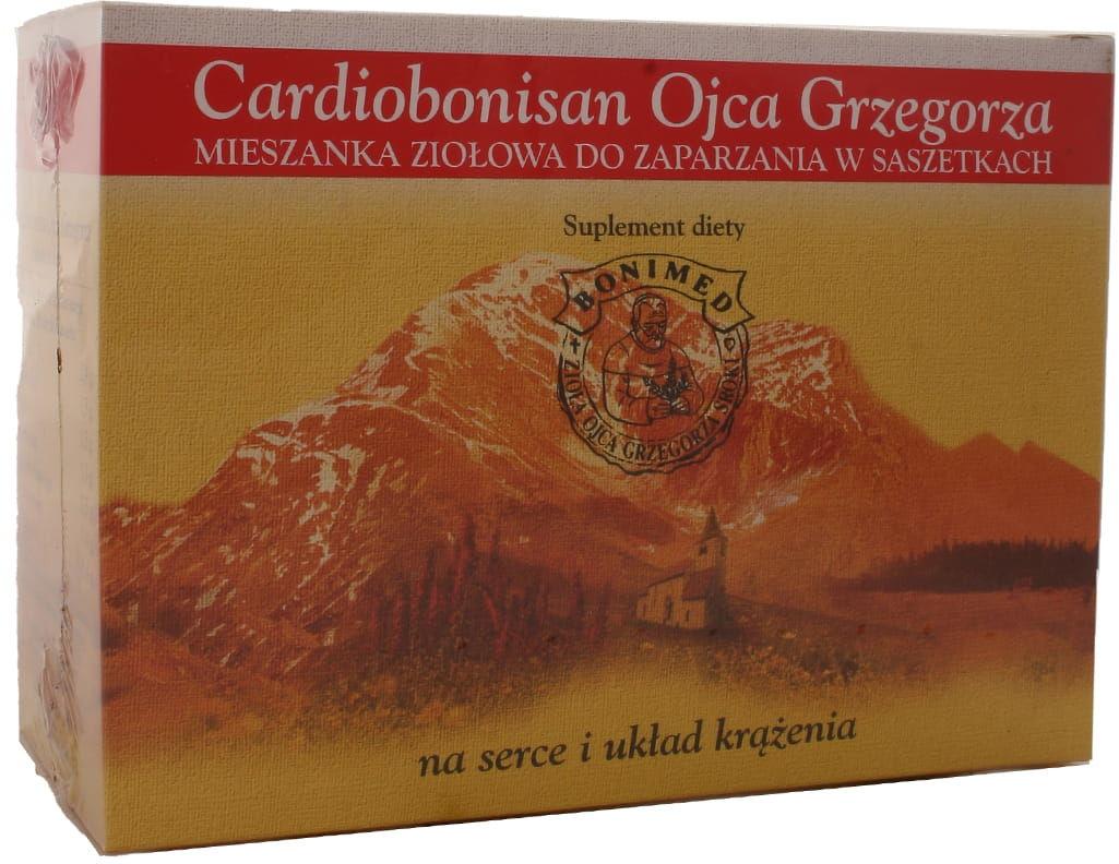 Cardiobonisan Ojca Grzegorza - Bonimed - 25 sasz