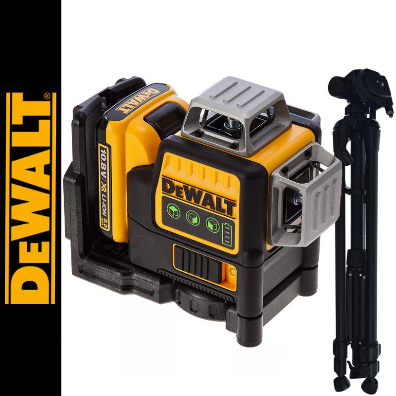 Laser płaszczyznowy DCE089D1G DeWalt + Statyw DT140
