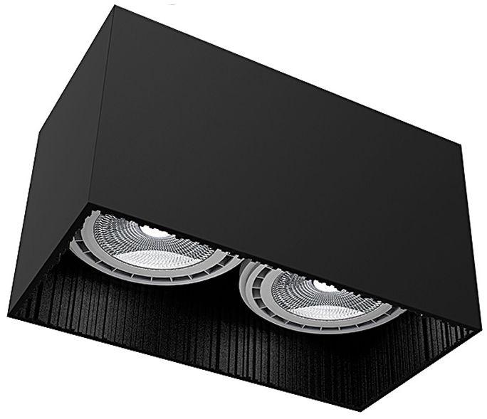 Oprawa natynkowa Groove 9316 Nowodvorski Lighting nowoczesna oprawa w kolorze czarnym