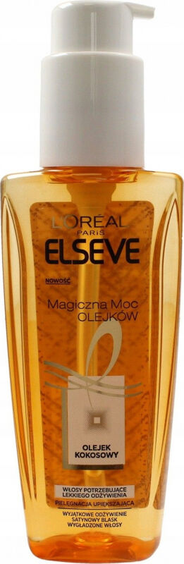 L''Oréal - ELSEVE - Magiczna Moc Olejków - Olejek kokosowy do włosów