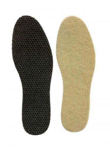 Zimowe wkładki do butów Wełna + Filc