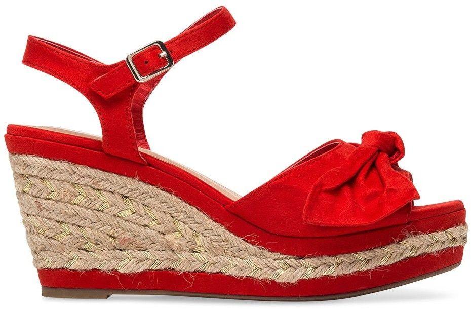 Sandałki damskie Belle Women 1819 Czerwone