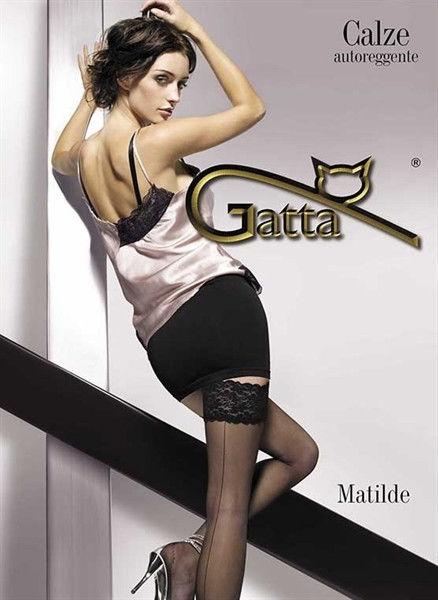 Gatta Matilde - Thigh High Stockings Nero Black