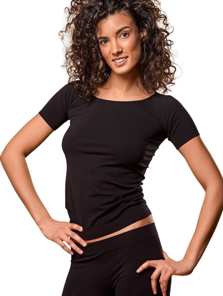 Damski T-Shirt, Koszulka termoaktywna z krótkim rękawem