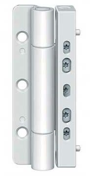 Zawias do drzwi PVC Siku RB 5010 3D MSTS - biały