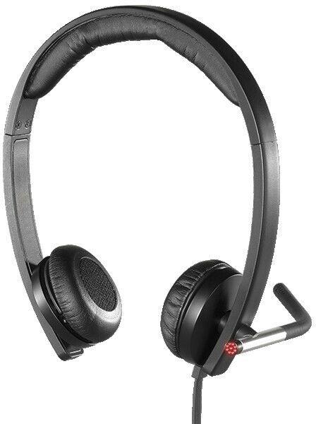 Logitech H650e zestaw słuchawkowy, kablowy